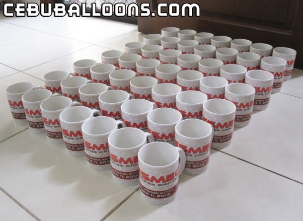 Customized Mugs for CESMEC's Grand Opening in SM Consolacion