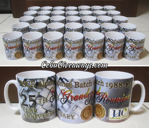 Customized Mugs for UC-BSCE Grand Reunion
