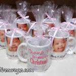 Customized Mugs with Plastic Cover for Ezrei Marie's Christening at Crown Regency Hotel Cebu