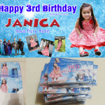 Frozen personalized Tarp, Invitation & Ref Magnets