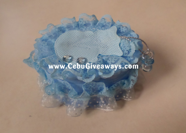 Giveaways - Box Oval with Decor (Close)