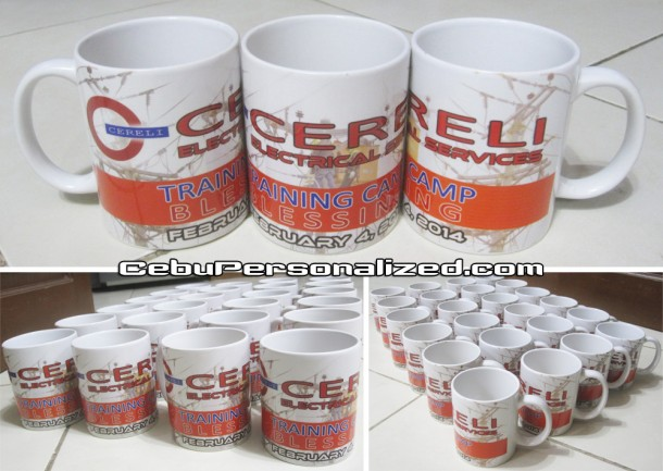 High Quality Personalized Mugs for Cereli Electrical Services