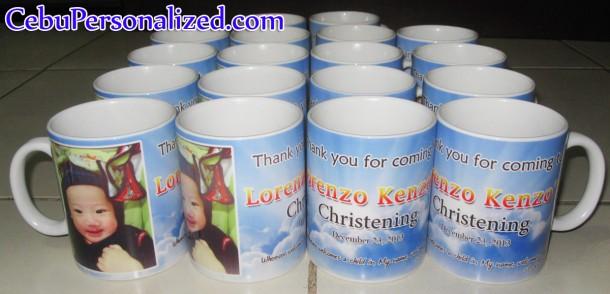 Lorenzo Kenzo's Christening - Personalized Mug
