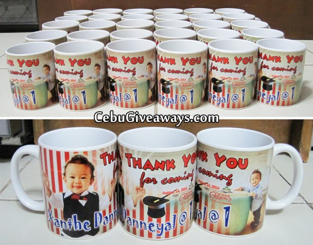 Magician Theme Personalized Mugs (Xanthe Danneyal)
