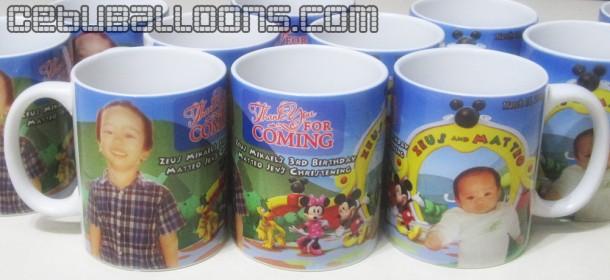 Mickey & Friends Theme Personalized Mugs