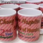 Mugs for Chong Hua Hospital School of Nursing Batch 1973