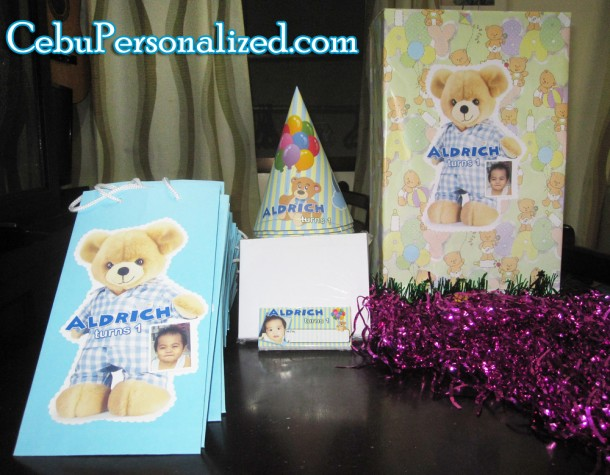 Personalized Kiddie Party Items