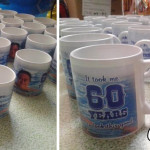 Personalized Mugs for Joel Orbeta's 60th Birthday