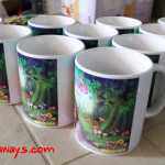 Personalized Mugs for a Debut at Marco Polo Hotel