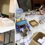Printing & Packing the Mugs