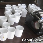 Printing of Personalized Mugs