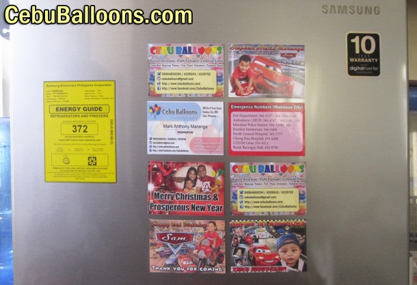 Ref magnets cebu giveaways personalized items for Personalized ref magnet giveaways