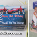 Ref Magnets and Celebrant Standee for Xian's 2nd Birthday