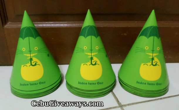 Totoro Party Hats (Customized Design)