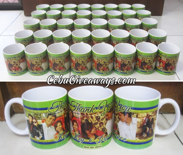Wedding Giveaways Ideas In Cebu : Mugs Cebu Giveaways: Personalized Items & Party Souvenirs