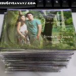 Wedding Giveaways Ref Magnets (Junmar & Juliet)
