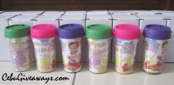 Personalized Small Tumblers (Aliyah Danielle - Hawaiian)