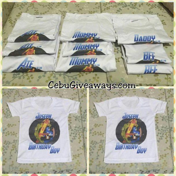 Avengers Theme Personalized T-Shirts