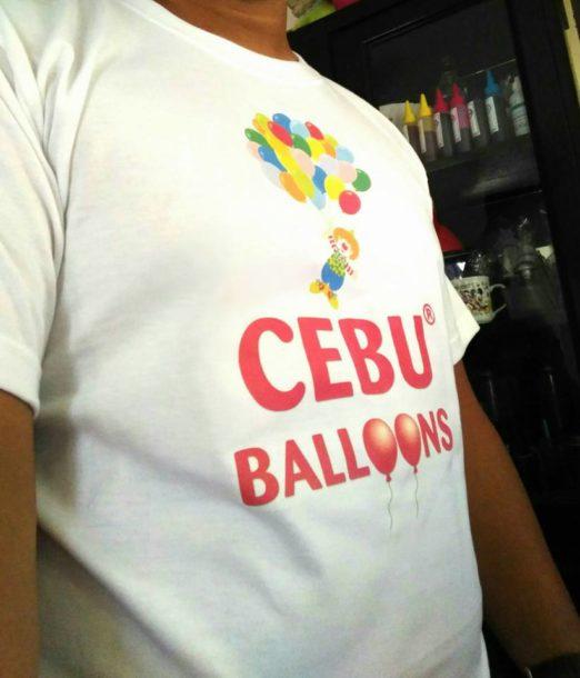 Flying Clown Balloons - T-Shirt Printing