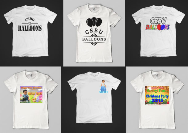 T shirt printing cebu giveaways personalized items for Personal t shirt printing