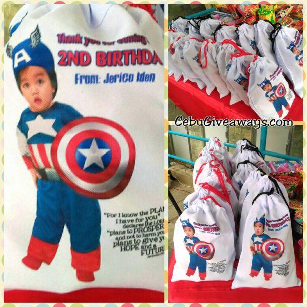 Drawstring Bags Captain America